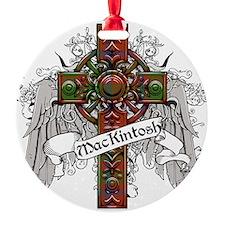 MacKintosh Tartan Cross Ornament