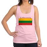 Lithuania.jpg Racerback Tank Top