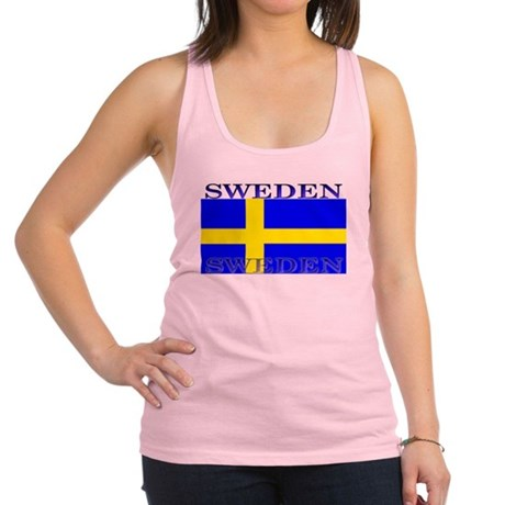 Swedenblack.png Racerback Tank Top