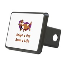 Retro Animal Adoption Hitch Cover