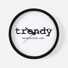 """trendy"" Wall Clock"