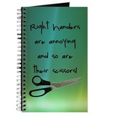 Right Handers Are Annoying Journal