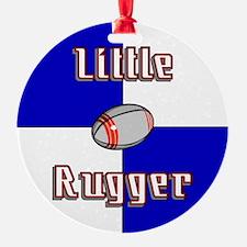 Little Rugger Ornament