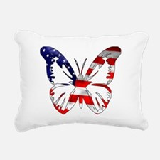 us-flag-butterfly.png Rectangular Canvas Pillow