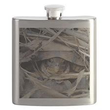 Camo Turtle Flask