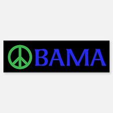 PEACE OBAMA Bumper Bumper Sticker