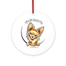 LH Chihuahua IAAM Ornament (Round)