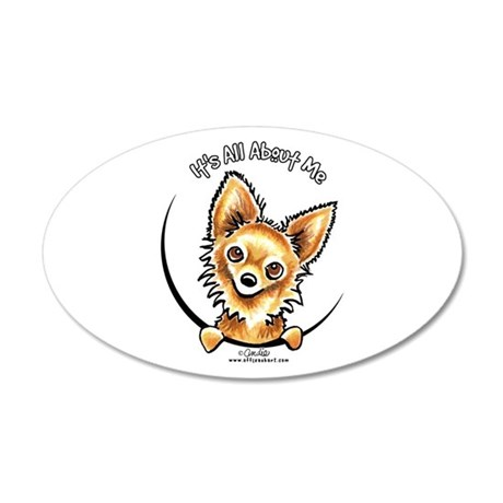 LH Chihuahua IAAM 20x12 Oval Wall Decal