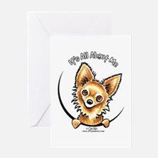 LH Chihuahua IAAM Greeting Card