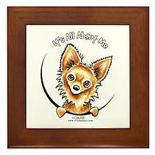 LH Chihuahua IAAM Framed Tile