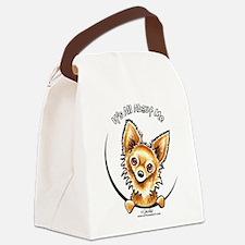 LH Chihuahua IAAM Canvas Lunch Bag