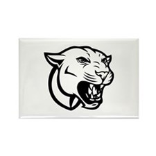 Cougar bait Rectangle Magnet