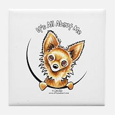 LH Chihuahua IAAM Tile Coaster