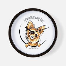 LH Chihuahua IAAM Wall Clock