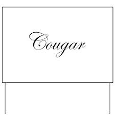 Cougar Yard Sign