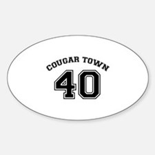 Cougar Town Decal