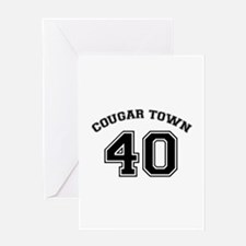 Cougar Town Greeting Card