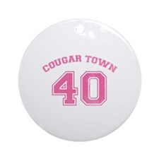 Cougar Town Ornament (Round)
