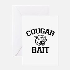 Cougar Bait Greeting Card
