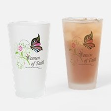 WOF Butterfly Drinking Glass