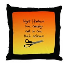 Right Handers Are Annoying Throw Pillow