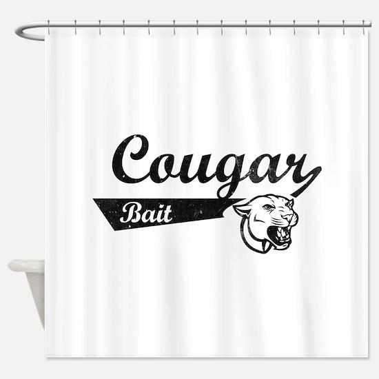 Cougar Bait Shower Curtain