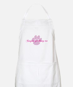 Cougars get thirsty too Apron