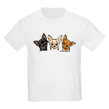 3 Smooth Chihuaha T-Shirt