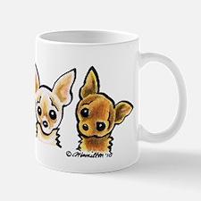3 Smooth Chihuaha Mug