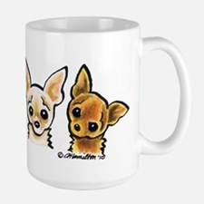 3 Smooth Chihuaha Mug