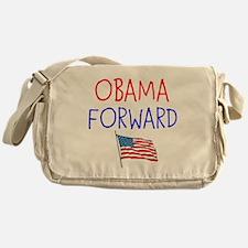 OBAMA FORWARD FLAG Messenger Bag