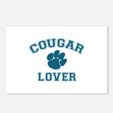 Cougar lover Postcards (Package of 8)