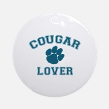 Cougar lover Ornament (Round)