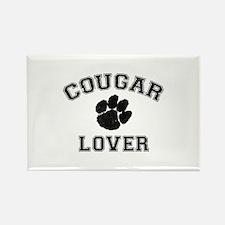 Cougar lover Rectangle Magnet