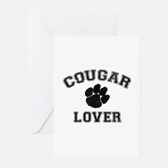 Cougar lover Greeting Cards (Pk of 10)