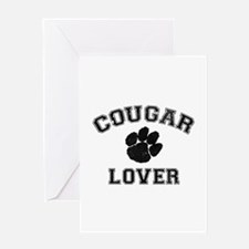 Cougar lover Greeting Card