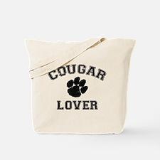 Cougar lover Tote Bag