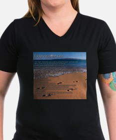 Footprints in the sand T-Shirt