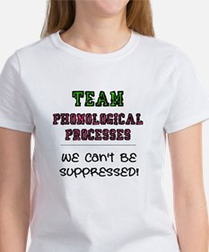 Team Phonological Processes T-Shirt