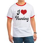 I Love Hunting Ringer T