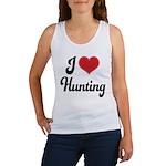 I Love Hunting Women's Tank Top
