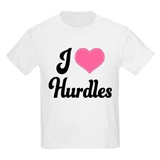 I Love Hurdles T-Shirt