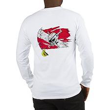Original Skull Pirate design Long Sleeve T-Shirt