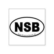 "New Smyrna Beach, FL ""NSB"" Oval Sticker"