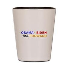 OBAMA BIDEN 2012 FORWARD Shot Glass