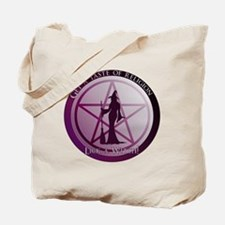 Get a taste of religion, lick a Witch Tote Bag