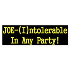 Joe Lieberman - (I)ntolerable !!!