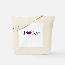 """I Love Xocai"" Tote Bag"