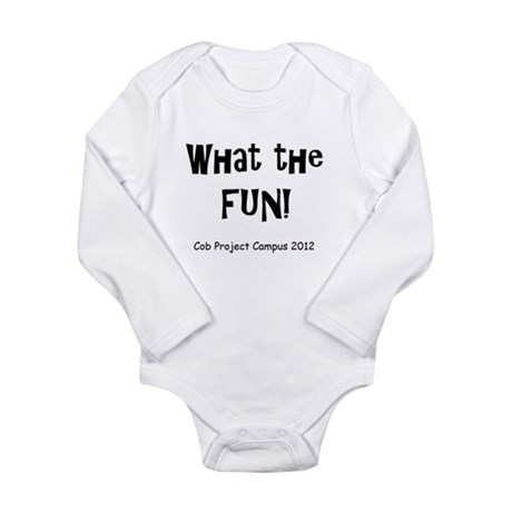 What The Fun! Long Sleeve Infant Bodysuit
