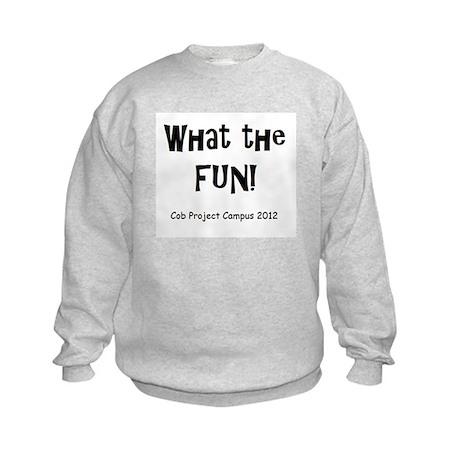 What Fun Kids Sweatshirt